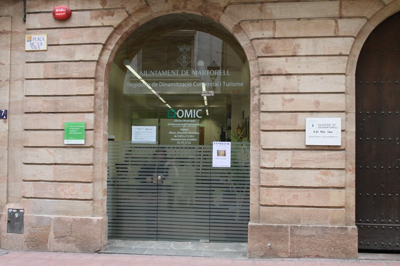 Equipaments municipals ajuntament de martorell for Oficina omic